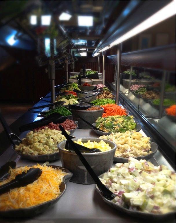 54 best Salad bar images on Pinterest Cafe restaurant Shops and