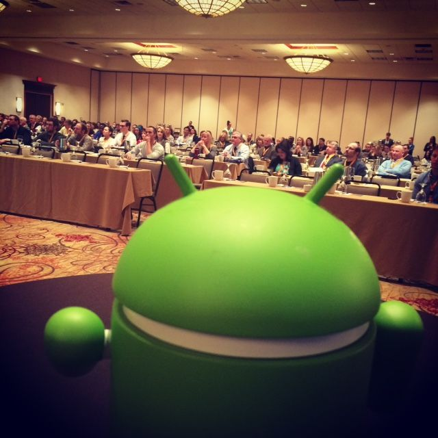 Andy taking in the crowd at the Google-Morgantown event!
