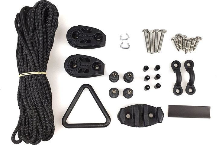 Yak Gear's Deluxe Kayak Anchor Trolley Kit - Click to view on Amazon