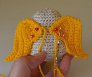 Knitting Pattern For Angel Wings : Pinterest   The world s catalog of ideas