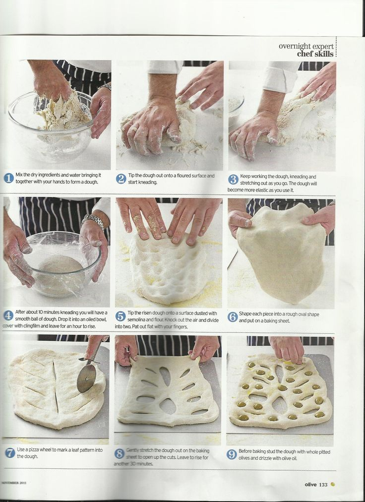 Bread - Olive fougasse /Part 2 Paul Hollywood