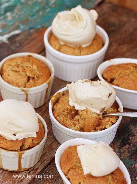 Thermomix recipe: Butterscotch Self Saucing Pudding · Tenina.com