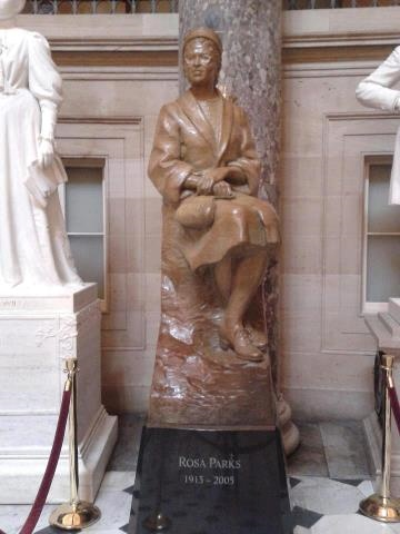 Statue of AKA Honorary Soror Rosa Parks at U.S. Capitol