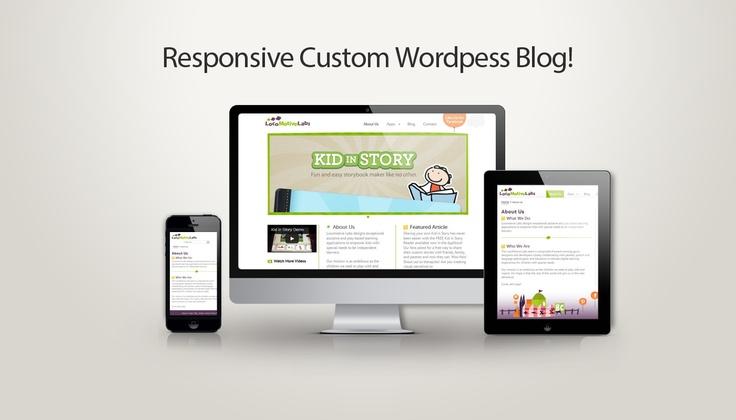 Custom Responsive Wordpress Website For iOS Apps Development Company