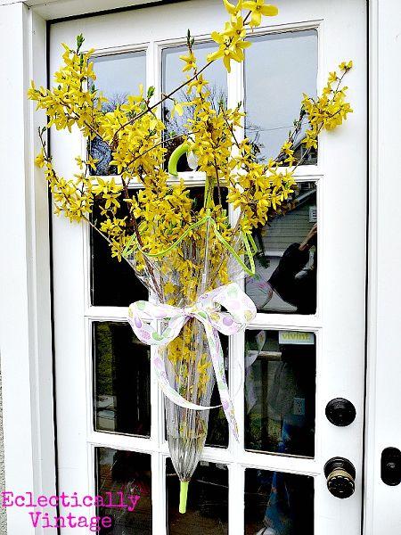 corona alternativa arredamento porta d'ingresso - Vaso ombrello da ecletticamente epoca