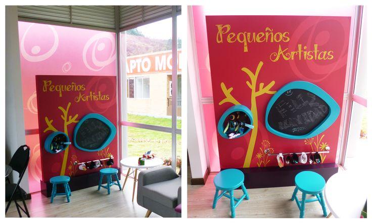 Zonas Infantiles, espacios diseñados para la iamginación #niños #divesión #ModosExhibiciónInmobiliaria