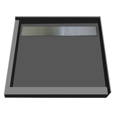Tile Redi Redi Trench 48 X 48 Double Threshold Shower Base With