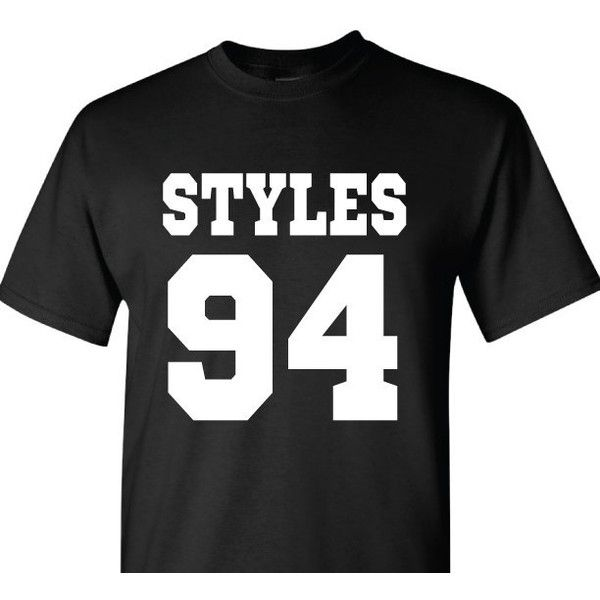 Harry Styles Dob T-Shirt One Direction T-Shirt Date of Birth featuring polyvore, fashion, clothing, tops, t-shirts, grey, women's clothing, stitch t shirt, gray t shirt, print t shirts, gray shirt and unisex t shirts