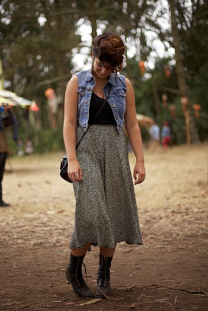 calivintage: street style at outside lands by calivintage, via Flickr