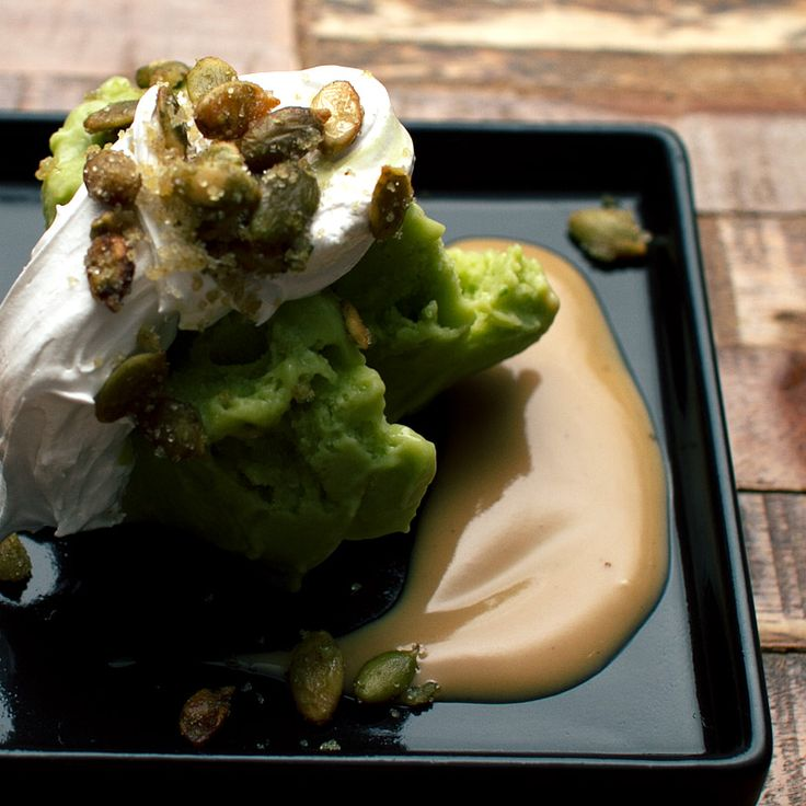 The Perfect Vegan Avocado Ice Cream via FMITK: From My Impossibly Tiny ...