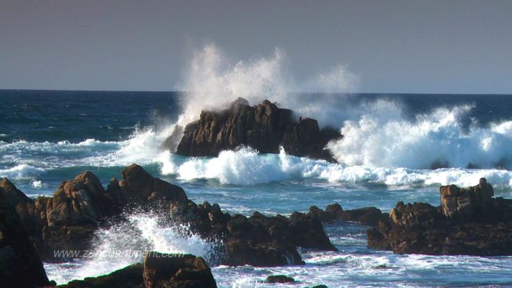 Zen Ocean Waves - Ocean Sounds Only (NO MUSIC)  Aquatic Dream Therapy
