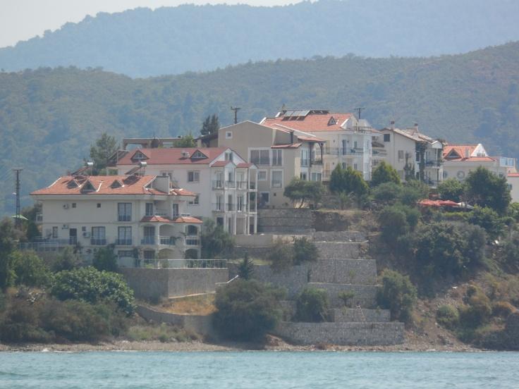 Little Island off Calis Beach, Turkey