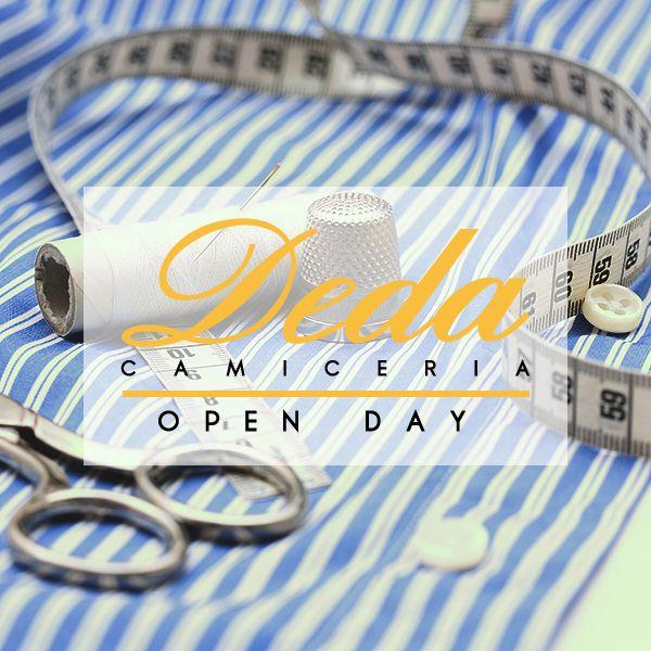 Sabato 14 Marzo 2015 Camiceria Deda - Open Day - 09.00-20.00 Via XX Settembre 52 - II Piano Saremo lì ad aspettarvi e mostrarvi il nostro nuovo Showroom