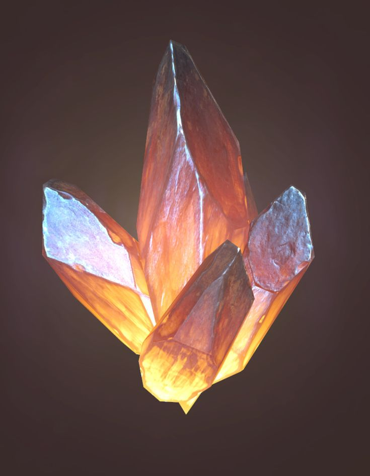 Quick shot at making some low res Lava Rocks! Modeled in 3DSMax, Sculpted in Zbrush, and textured using the Quixel Suite. Rendered in Marmoset Toolbag.  50 Triangles per Crystal.
