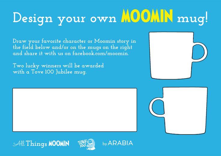 Design your own Moomin mug
