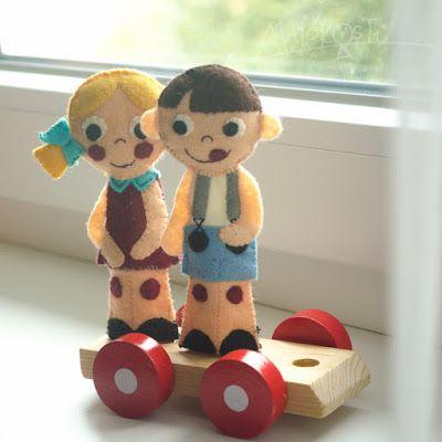 DIY prstoví maňásci / DIY finger puppets