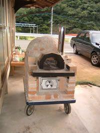 ピザ窯の作り方-移動式ピザ石釜の製作の記録