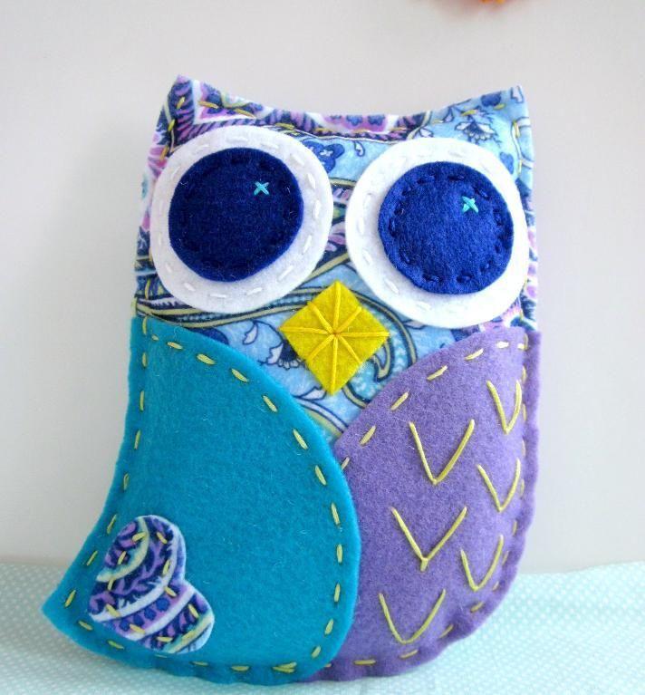Owl Crafts -felt