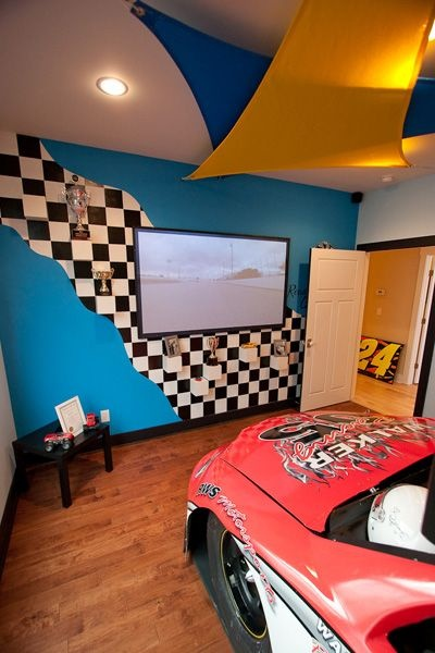 Racing Themed Room56 best Racing office home images on Pinterest   Automotive  . Race Car Themed Room Ideas. Home Design Ideas