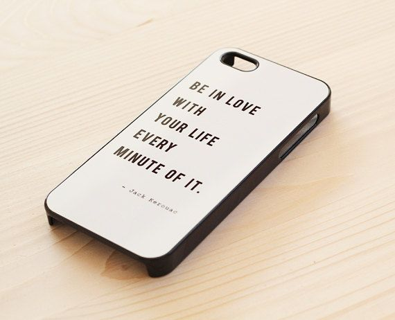 White quote iPhone 5 / 5S case iPhone 4 / 4S case by AnotherCase