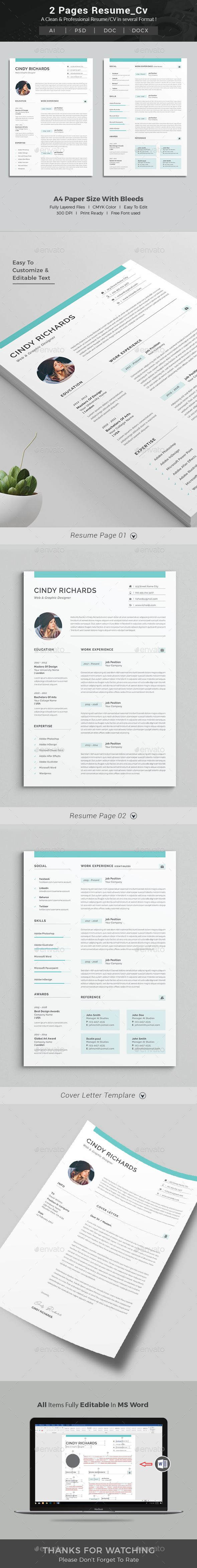 Resume #indesign #cv template  • Download here → https://graphicriver.net/item/resume/21357846?ref=pxcr