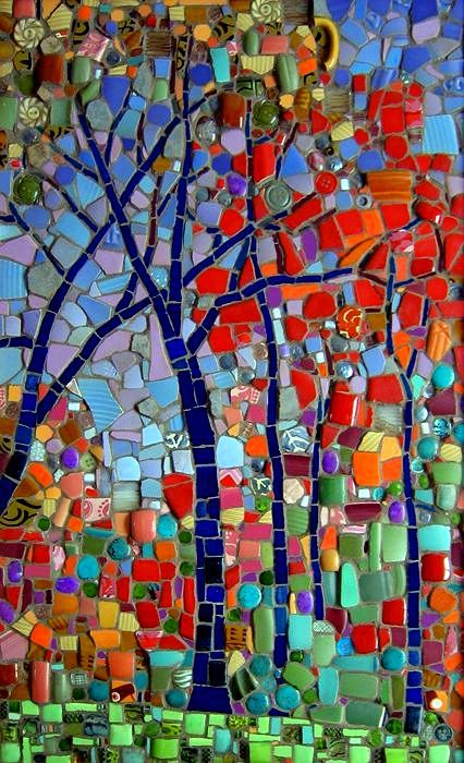 Michael Sweere Mosaic Company 'Autumn in the Hills'