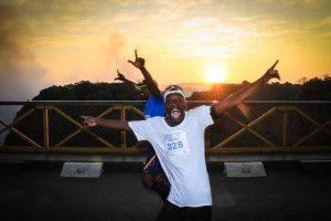 Victoria Falls Marathon  18 June 2017