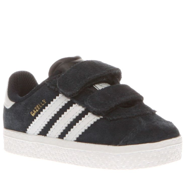 kids adidas navy \u0026 white gazelle 2 boys toddler. School ShoesAdidas ...