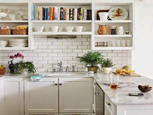 63 best images about cocinas bellas on pinterest open - Estantes de cocina ...