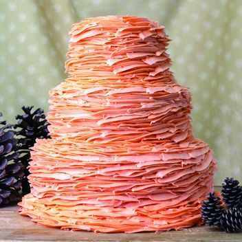 Magnolia Bakery wedding cake