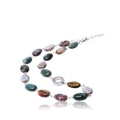 Elegant Stone Necklace