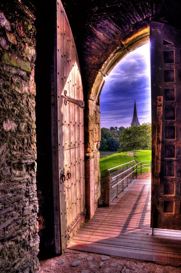 Wales-Kidwelly-Coming out of the castle by Francesco Cetta on 500px