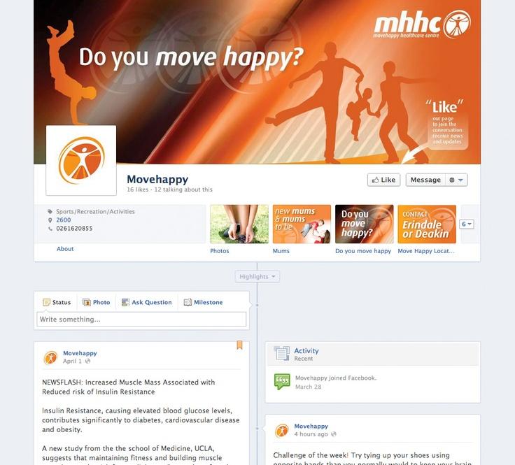 Movehappy Healthcare Facebook - Social Media