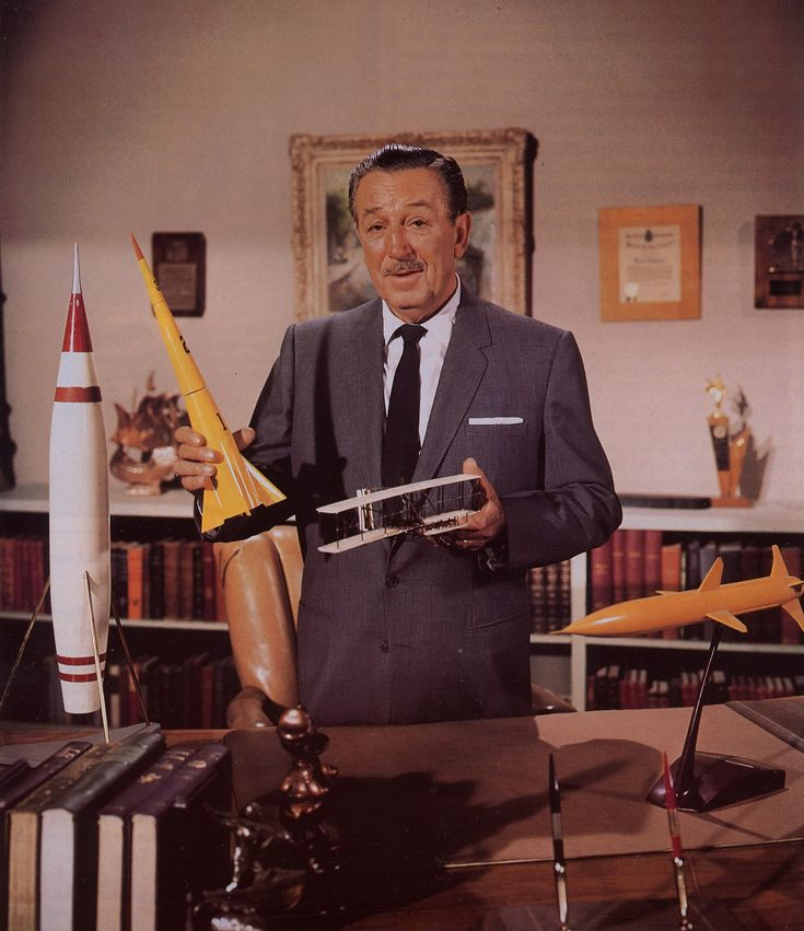 DISNEYLAND (ABC-TV) - Walt Disney served as the host and introduced each 60-minute episode.