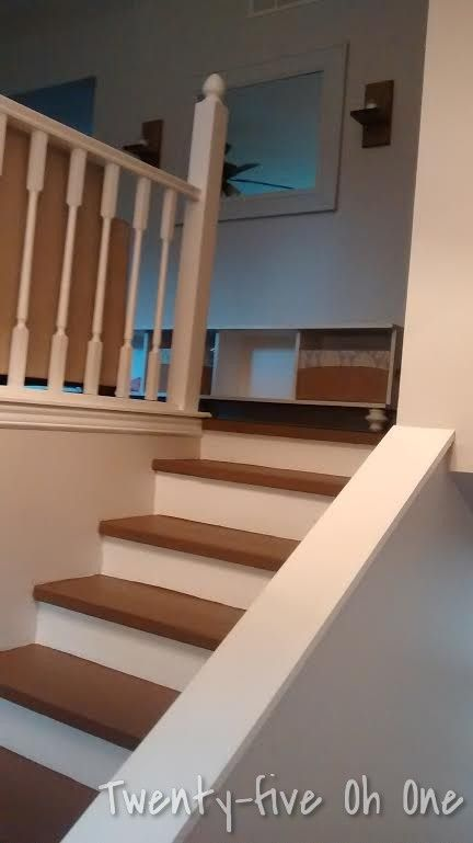 Stair and Banister Remodel