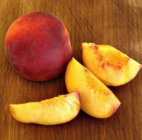 What we're making with ... peaches.