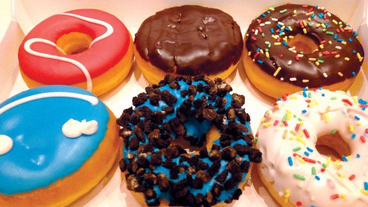 ** Originální americké donuty **