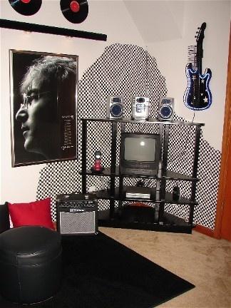 Best 25 guitar bedroom ideas on pinterest bedroom for Guitar bedroom designs