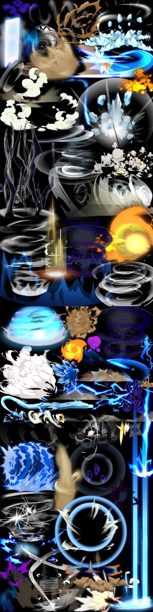 超赞的卡通手游特效 Flash