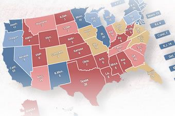 Interactive: 2012 US Presidential Election Map - US Election 2012 - ABC News (Australian Broadcasting Corporation)