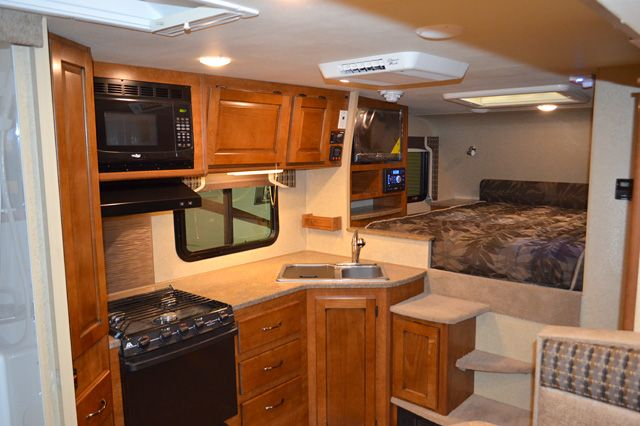 Full Wall Slide Dry Bath Camper: 2015 Lance 995 Interior; A Nine Foot, Full Wall Slide-out