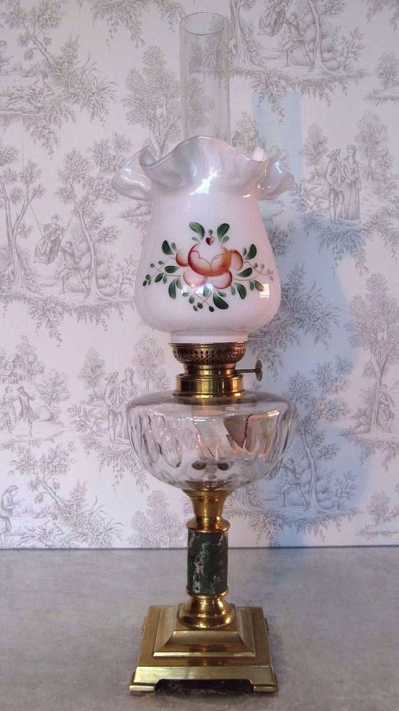 1167 Best Images About Victorian French Table Lamps On Pinterest Hurricane Lamps Oil Lamps