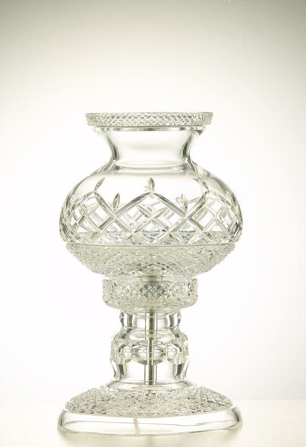 "Lamps Newgrange 10.5"" - Galway Crystal €350.00"