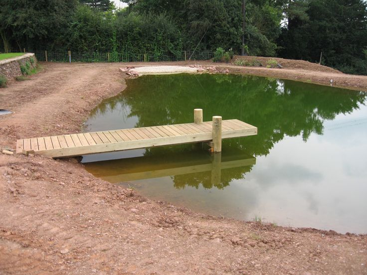 how to build a large pond