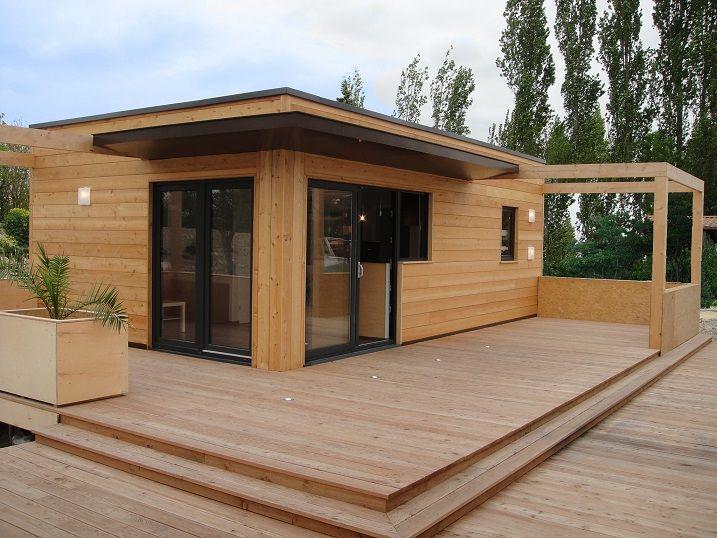 24 best Studio de jardin chalet bois images on Pinterest | Chalets ...