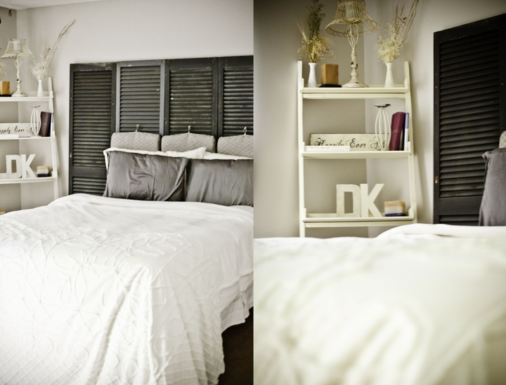 My Master Bedroom With Grey, Ivory, And White. Fluffy