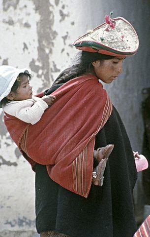 Bolivia native quechua woman. Tarabuco, sucre