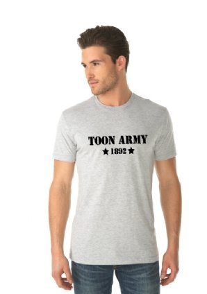 Toon army newcastle soccer shirts and apparel this Next level printed shirts