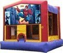 www.BounceandRebound.com (623-396-JUMP) Spider-man Bounce House Rents for $99   Measures 15'L, 15'W