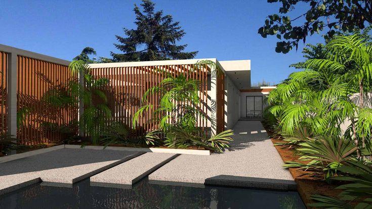 Atelier d 39 architecture sc nario maison contemporaine d - Terrasse de maison contemporaine ...